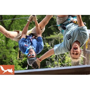 FOXFIRE Mountain Adventure Park Waterfall Canopy Zip Tour