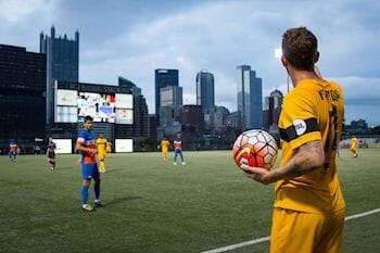 August 10th Riverhounds Game at Highmark Stadium!  Supporters Section!