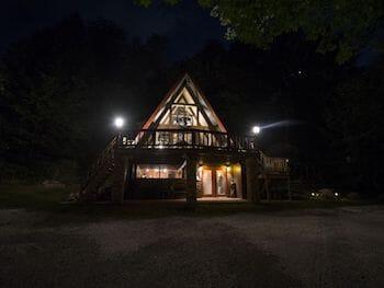 Spend the weekend at Tall Cedar Chalet near Seven Springs!