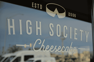 High Society Cheesecake