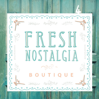 Fresh Nostalgia Boutique in Market Square!