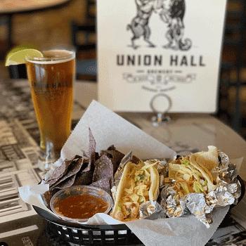 Union Hall Brewery Half Off Dining