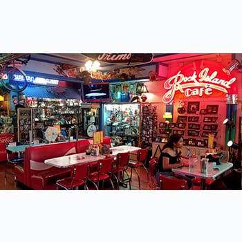 Rock Island Cafe - Buy One Get One Free!