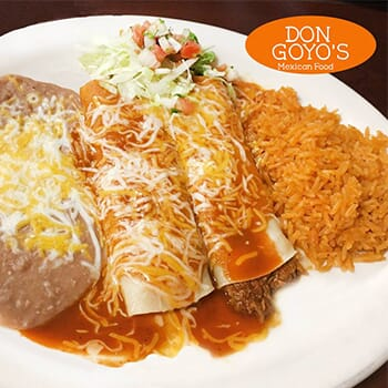 Don Goyo's Mexican Restaurant - Buy One Get One Free!
