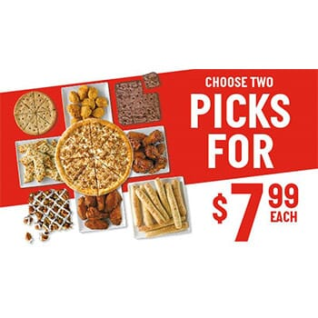 Garlic Parmesan Bread Sticks & Pizza Deal!