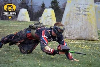 Steeltown Paintball Park in Emsworth!