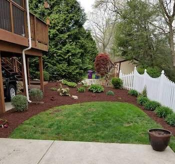 10 yards of Mulch Blowing Service!  Mulch Included!