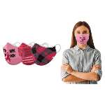 Breast Cancer Awareness Reusable Non-Medical 2-Layer Fabric Face Masks (3-Pack)  $12.99 with FREE Shipping!