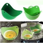 6-Pack: Silicone Egg Poachers - $11.99 with FREE Shipping!