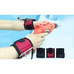 Magnetic Wristband with 6 Powerful Magnets - $12.99 with FREE Shipping!