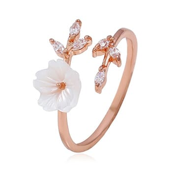 Cherry Blossom Ring Adjustable Rings - $21.75 with FREE Shipping!