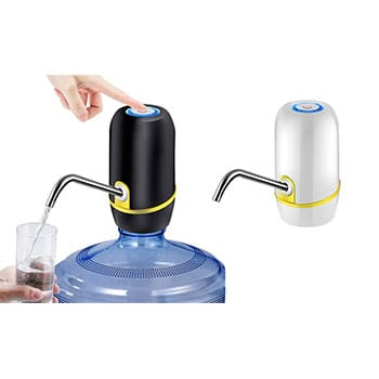 Portable Electric Rechargeable Automatic Water Bottle Pump And Dispenser - $19.99 with Free Shipping