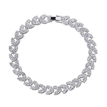 Heart Tennis Bracelet - $52.50 with FREE Shipping!