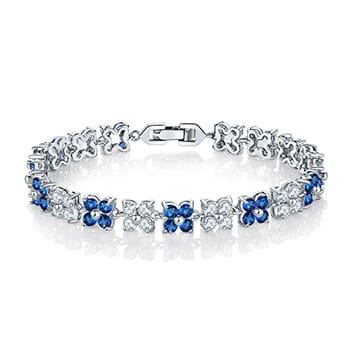 Flower Tennis Bracelet - $60 with FREE Shipping!
