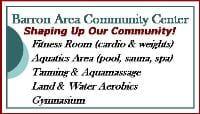 Barron Area Community Center: HALF OFF 3 MONTH HIGH SCHOOL MEMBERSHIP