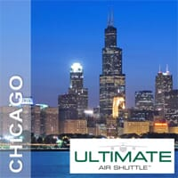 25% off one round-trip ticket to Chicago
