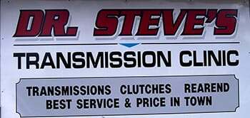 Dr. Steve's Transmission Clinic - One Voucher worth $100