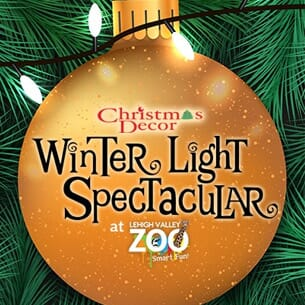 2 Tickets - Winter Light Spectacular at Lehigh Valley Zoo