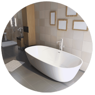 Bathtub Refinishing with Perma Ceram of Pittsburgh-1