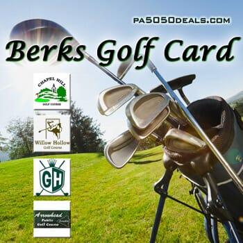 Berks Golf Card 2019