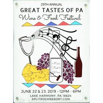 Split Rock's Annual Great Tastes of Pennsylvania Wine & Food Festival