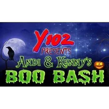 Y102 Presents Andi & Kenny's Boo Bash 2018