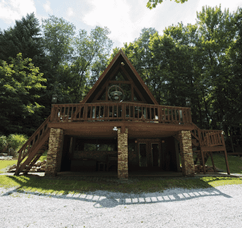 Weekend Stays at Tall Cedar Chalet near Seven Springs!-1