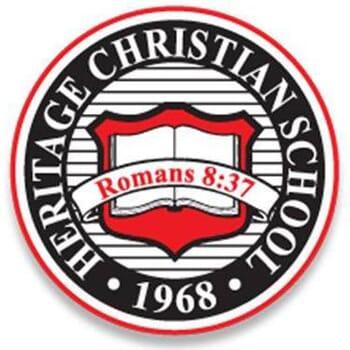 Heritage Christian School Tuition: K - 6th grades