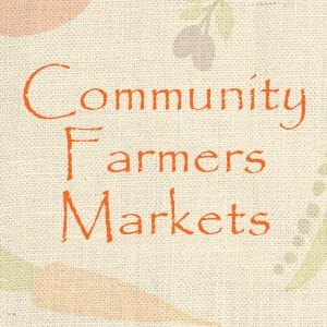 Half Off at Community Farmers Markets
