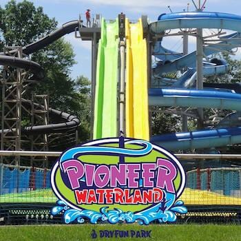 4 Pack - Pioneer Waterland & Dry Fun Park in Chardon, OH!