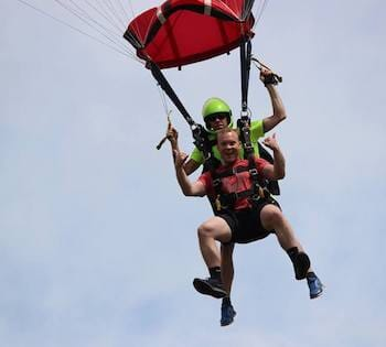 Tandem Skydive from Canton Air Sports!