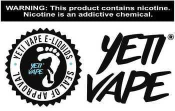 Yeti Vape - 4 Month Supply of E-liquid