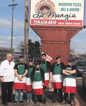 La Mangia Restaurant & Bakery in New Castle!