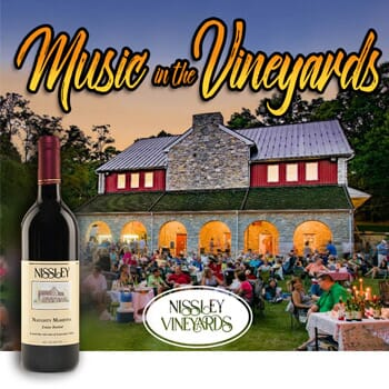 4-Pack Admission Tickets - Music in the Vineyards