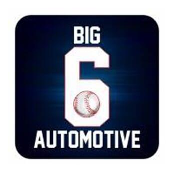 Big 6 Automotive - 5 Oil Change Punch Card