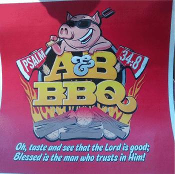 Taste the town @ A & B BBQ