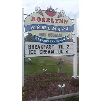 BOGO at Roselynn Homemade Ice Cream