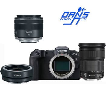 Dan's Camera City - Canon EOS RP Adapter & Lens Kit