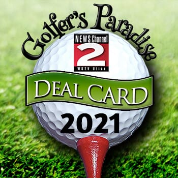 WKTV 2020 Golfer's Paradise Card