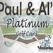 Paul & Al's Platinum Golf Card 2020
