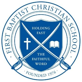 First Baptist Christian School Tuition: 7th - 12th Grade