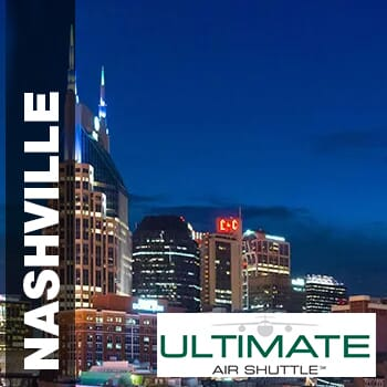 25% off one round-trip ticket to Nashville, TN.