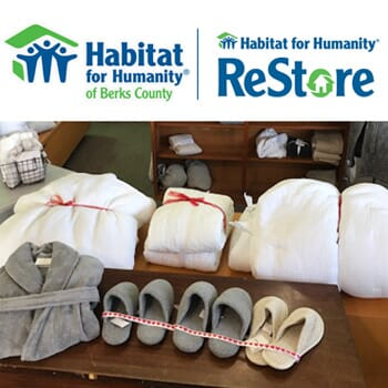 Habitat for Humanity ReStore Temple PA - $100 Voucher for New Bedding Inventory