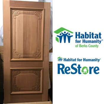 Habitat for Humanity ReStore Temple PA - Unfinished Two-Panel Maplewood Door