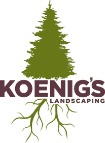 One Time Mulching from Koenig's Landscaping!