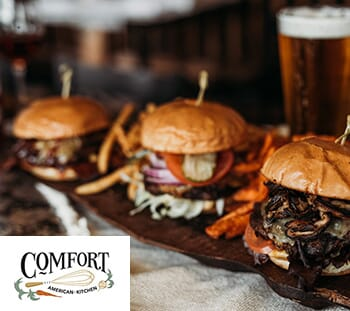 Comfort American Kitchen: Get $50 Gift Card for $25