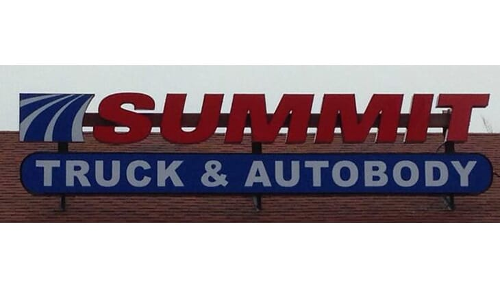 Summit Truck and Auto Body - $1000 voucher  toward auto body services