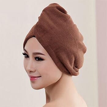 Luxury Home™ Comfy Microfibre Hair Towel - $11.99 With FREE Shipping