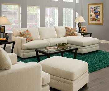 Discount Furniture Warehouse - 2PC Sectional Sleeper