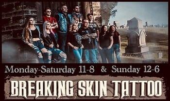 Breaking Skin Tattoo & Body Piercing